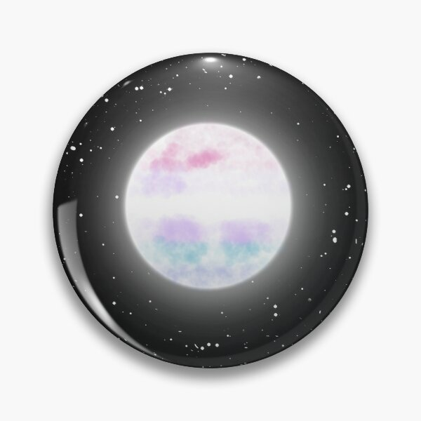 Bigender Moon Pin