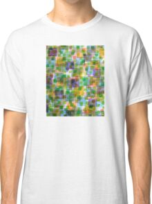 Large Squares covered by Small Green Squares  Classic T-Shirt