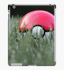 Pokeball in Grass iPad Case/Skin