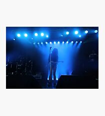 Dragonette on Stage Photographic Print