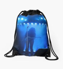 Dragonette on Stage Drawstring Bag