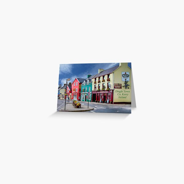 Dingle Town Co. Kerry, Ireland Greeting Card