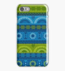 Summer time. Tribal pattern iPhone Case/Skin