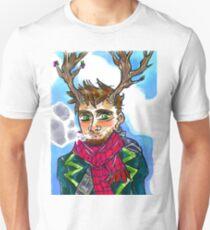 Smoking queer man T-Shirt