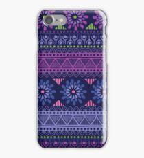 Evening Garden. Tribal pattern iPhone Case/Skin
