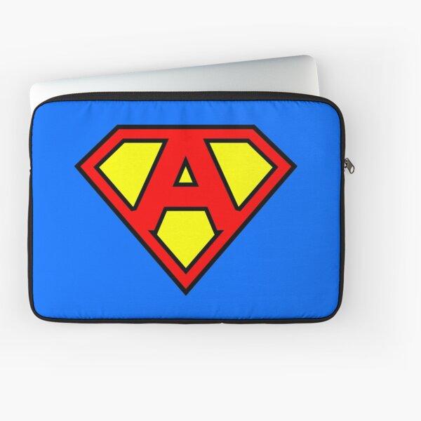 Lettre A | Super Lettre Vol.1 Housse d'ordinateur