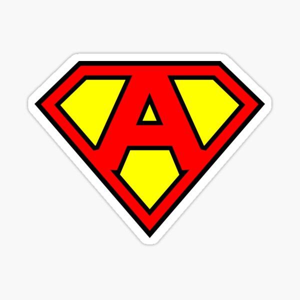 Letter A | Super Letter Vol.1 Sticker