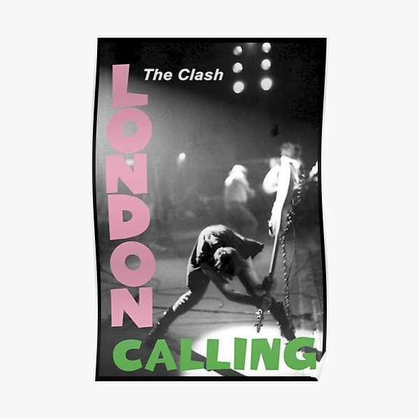 Best Selling CLASH Poster
