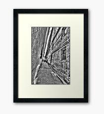 Abercrombie Lane.  Framed Print