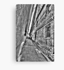 Abercrombie Lane.  Canvas Print