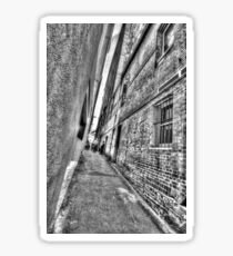Abercrombie Lane.  Sticker