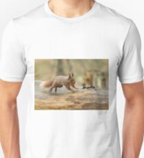 Red Squirrel Leaping T-Shirt