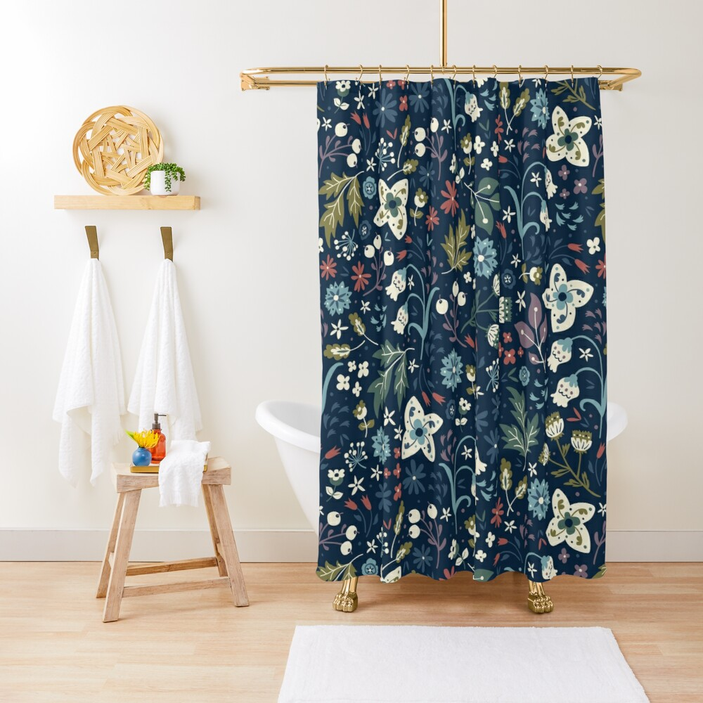 Wild Meadow Shower Curtain