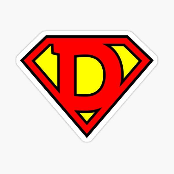 Letter D | Super Letter Vol.1 Sticker