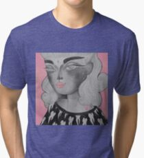 Moony Tri-blend T-Shirt