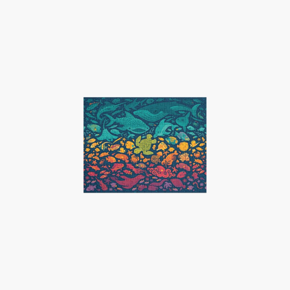 Aquatic Spectrum 2 Jigsaw Puzzle
