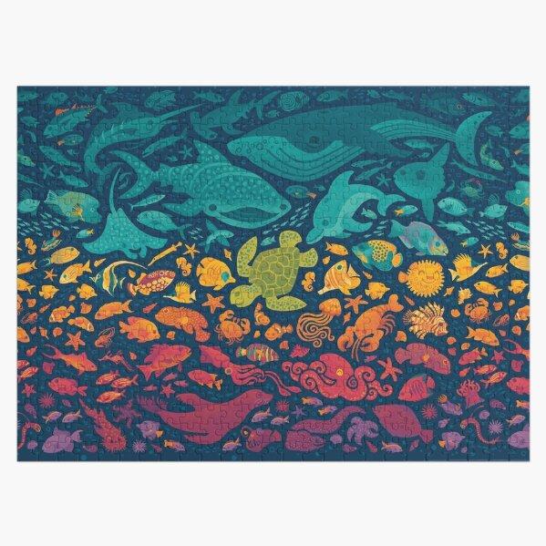Aquatic Spectrum 2 Jigsaw Puzzle