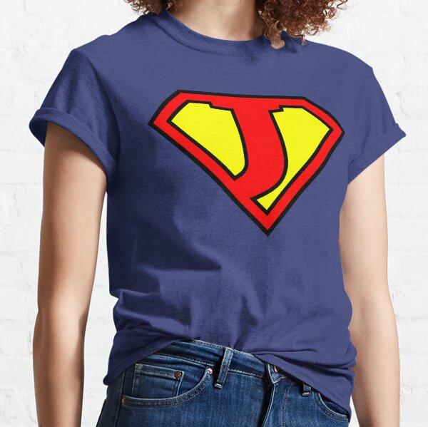 Lettre J | Super Lettre Vol.1 T-shirt classique