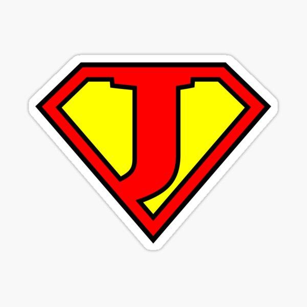 Letter J | Super Letter Vol.1 Sticker