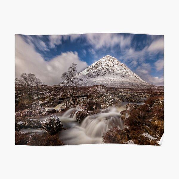 Buachaille Etive Mor at Glen Coe - Scottish Highlands Poster