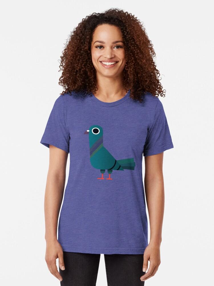 Alternative Ansicht von Taube Vintage T-Shirt