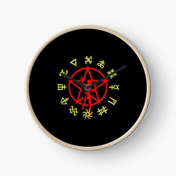 best cover rush band logo Clock