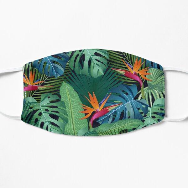 Tropical Birds of Paradise Flat Mask