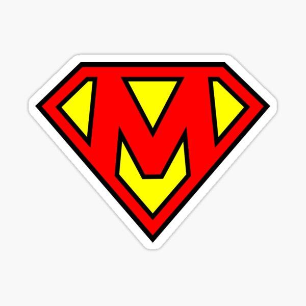 Letter M | Super Letter Vol.1 Sticker