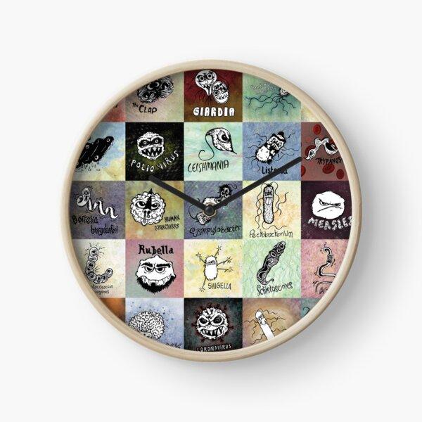 Pathogens - gotta catch them all? Clock