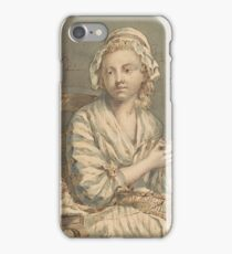 French School 18th century The Wool Winder iPhone Case/Skin