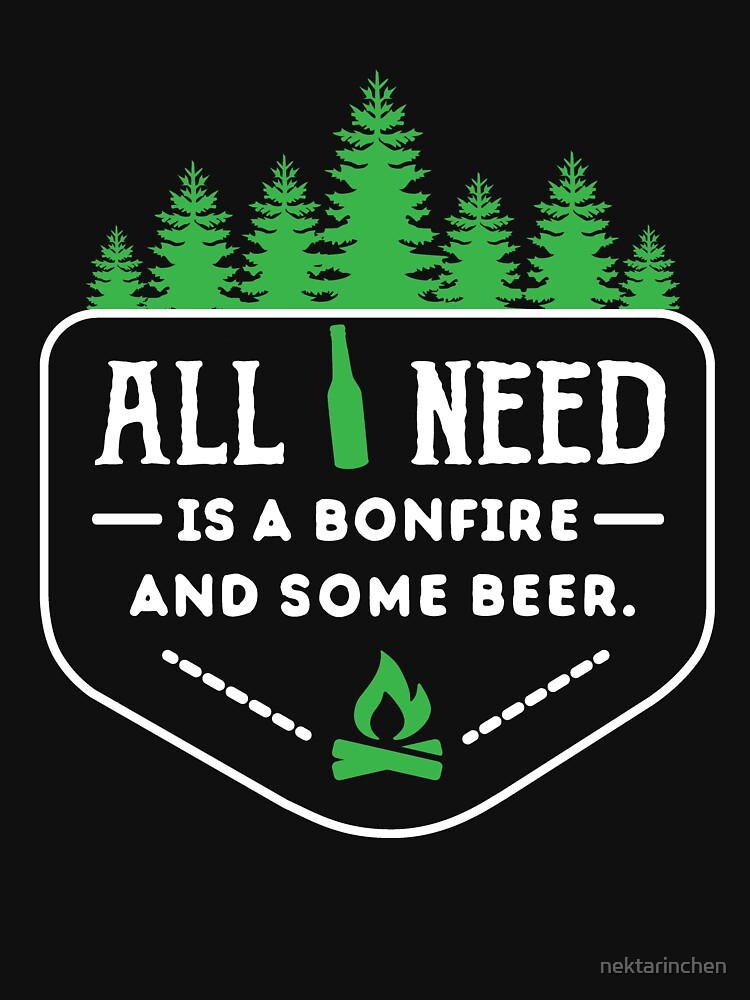 All you need is a bonfire and some beer!  by nektarinchen