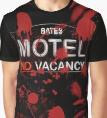 Bloody Bates Motel Graphic T-Shirt