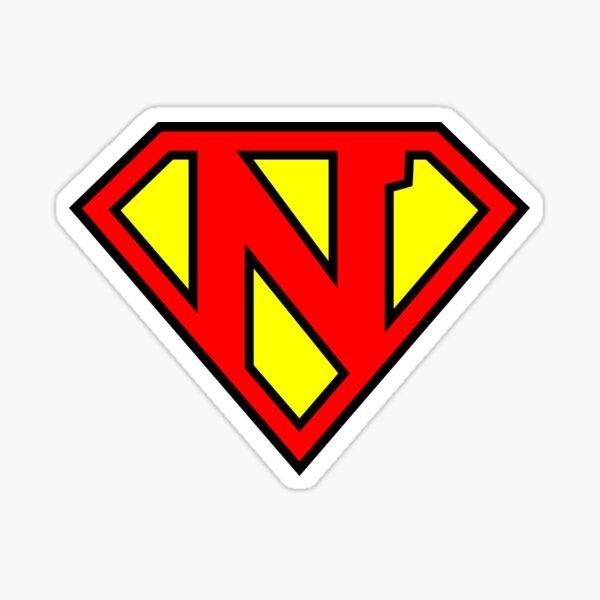 Letter N | Super Letter Vol.1 Sticker