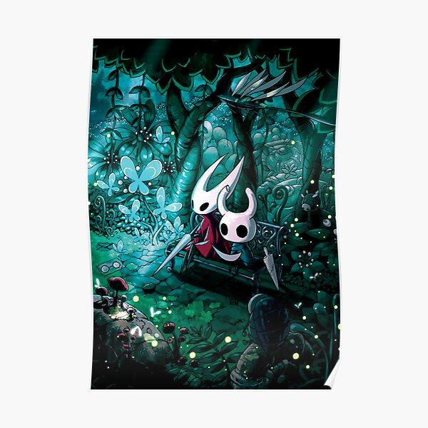 hollow knight great slash Poster