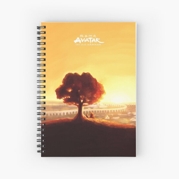 Avatar The Last Airbender: Irohs Tale Spiral Notebook