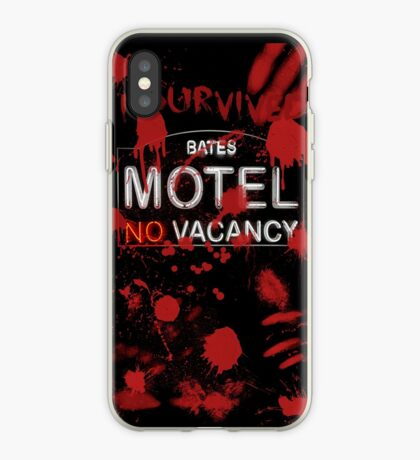 I Survived Bloody Bates Motel iPhone Case
