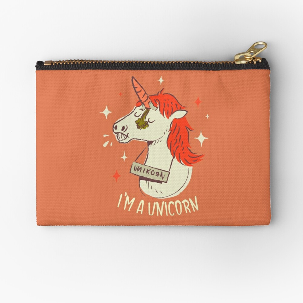 I'm a unicorn Zipper Pouch