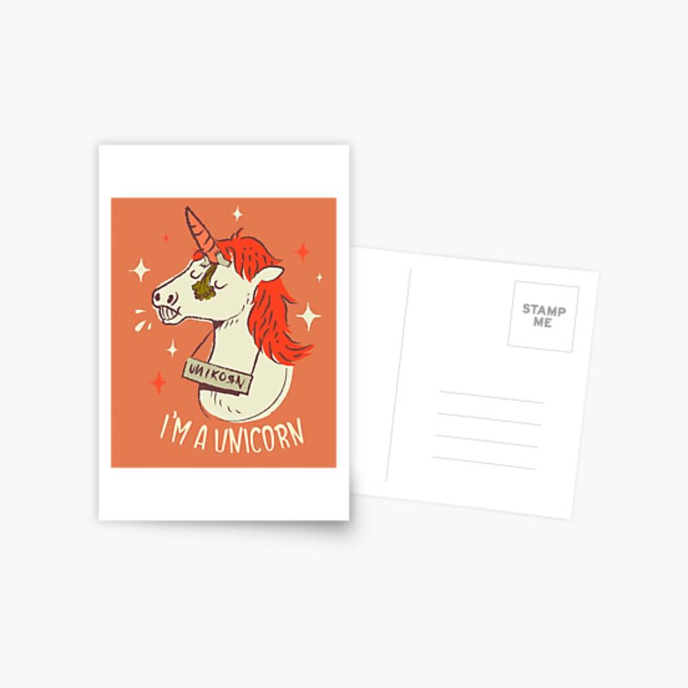 I'm a unicorn Postcard