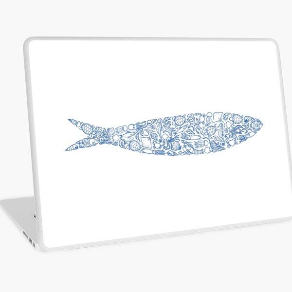 Sardine of Sea Animals Laptop Skin