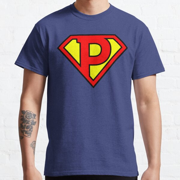 Letter P | Super Letter Vol.1 Classic T-Shirt