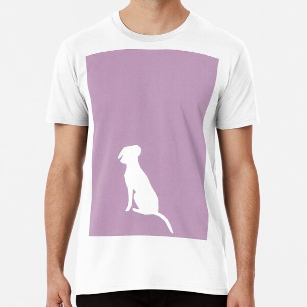 Pink pup papercut Premium T-Shirt
