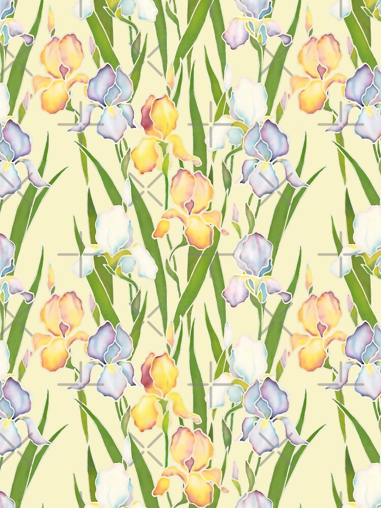 Creamy Irises by nadyanadya