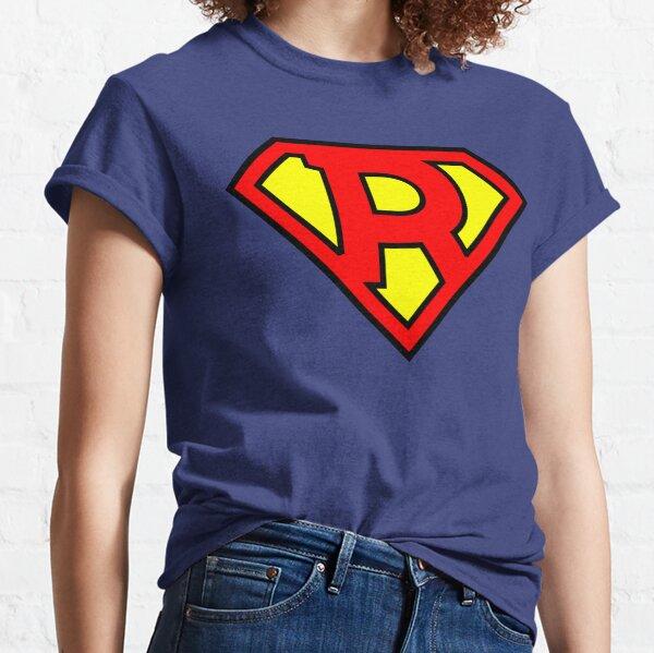 Lettre R   Super Lettre Vol.1 T-shirt classique