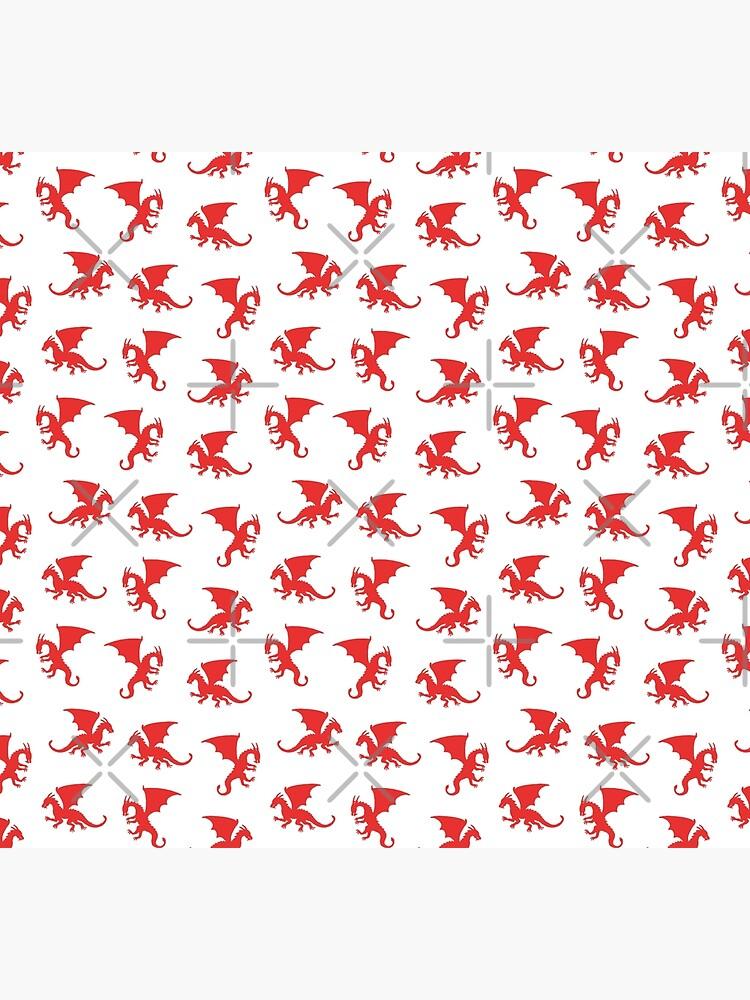 Red Dragons by nadyanadya
