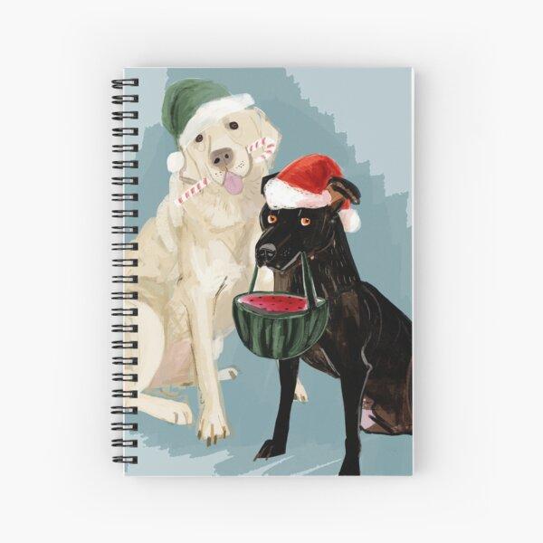 Navidades Perrunas Cuaderno de espiral
