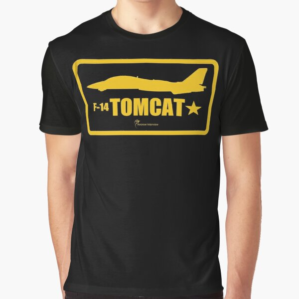 F-14 Tomcat Patch Graphic T-Shirt