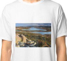 Blue peacks area Tasmania Classic T-Shirt