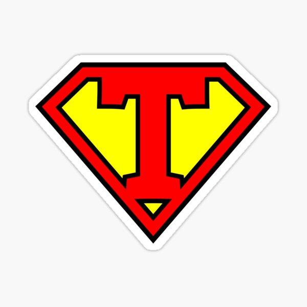 Letter T | Super Letter Vol.1 Sticker