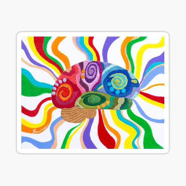 Celebration Brain Sticker