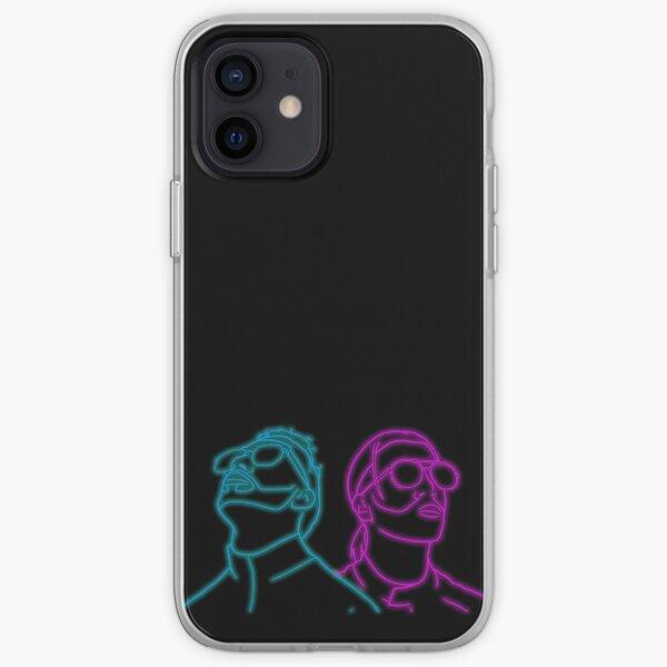 PNL Deux Frères Neon Coque souple iPhone